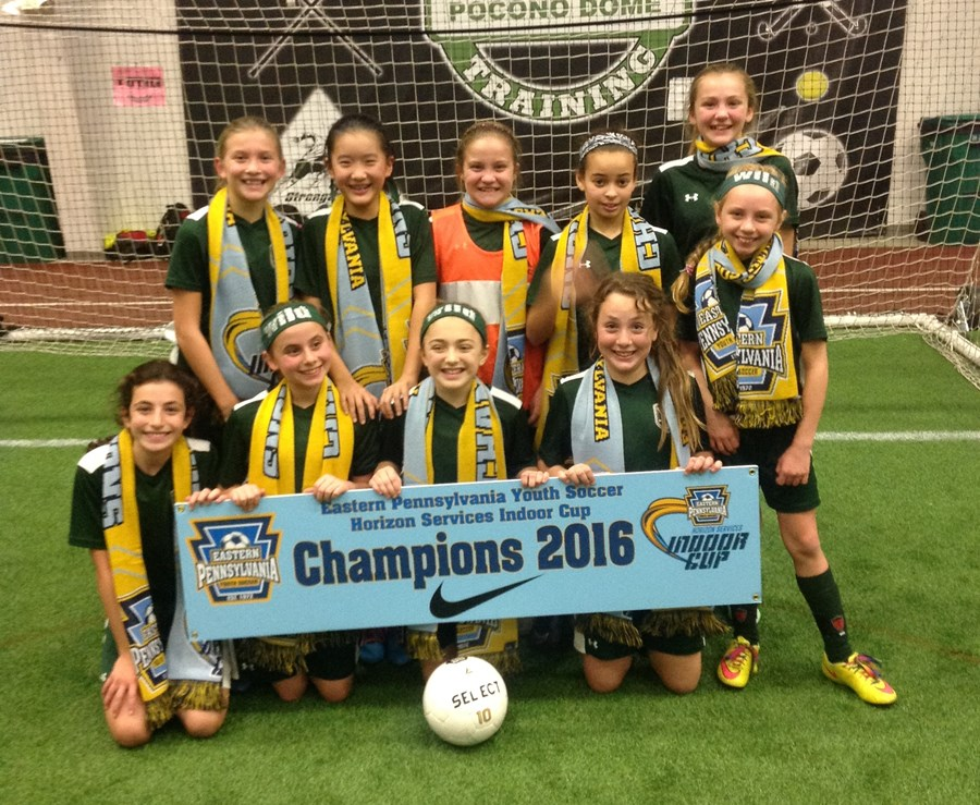 U11 Girls Challenge Blue- Whitepain Wild