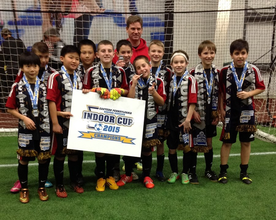 U11B Challenge White Champions- Ukrainian Nationals Zirka White