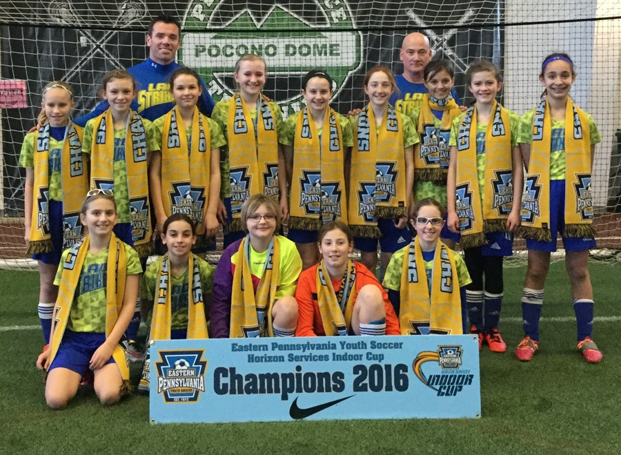 U12 Girls Challenge Blue - Central Susquehanna Lady Strikers