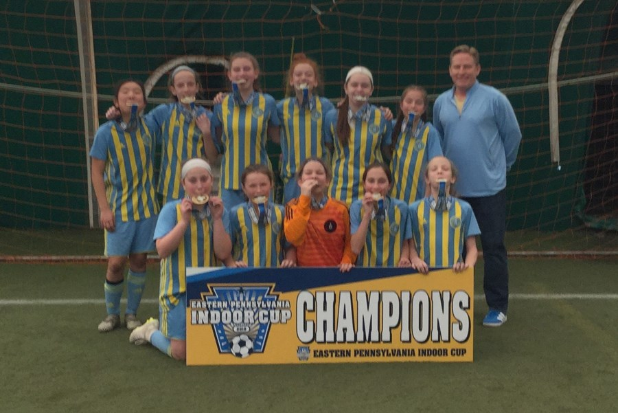 U12 Girls Challenge White - Ukrainian Nationals Red