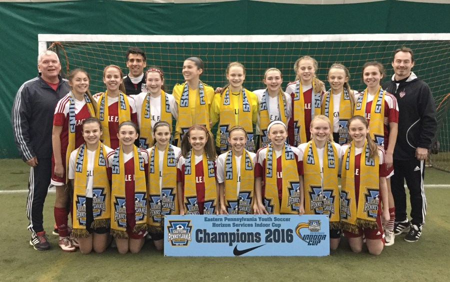 U13 Girls Elite - HMMS Eagle FC Impact Red _ Black