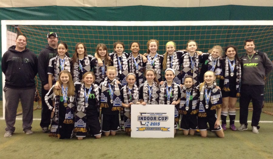 U13G Challenge White Champions- Back Mountain Fury