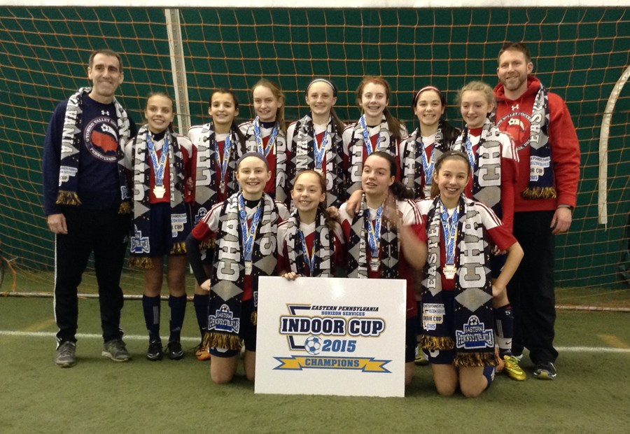U13G Elite Blue Champions- Wyoming Valley SC