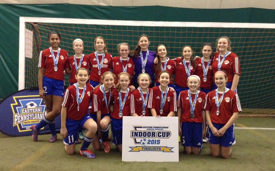 U13G Elite White Finalists- Warrington FC Bombers