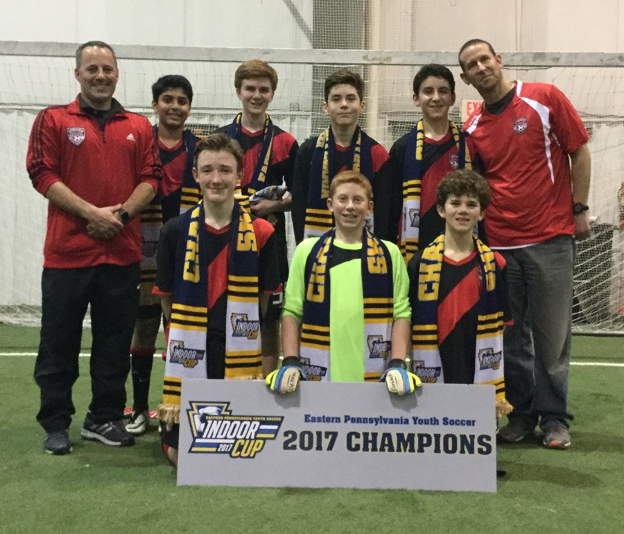 U14 Boys Challenge Blue - Upper Dublin Arsenal Black