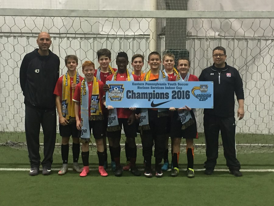 U14 Boys Challenge Blue- Enco Red