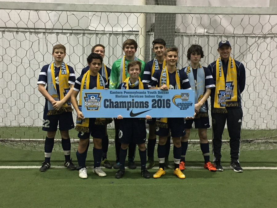 U14 Boys Elite - North Union United Cannons Blue