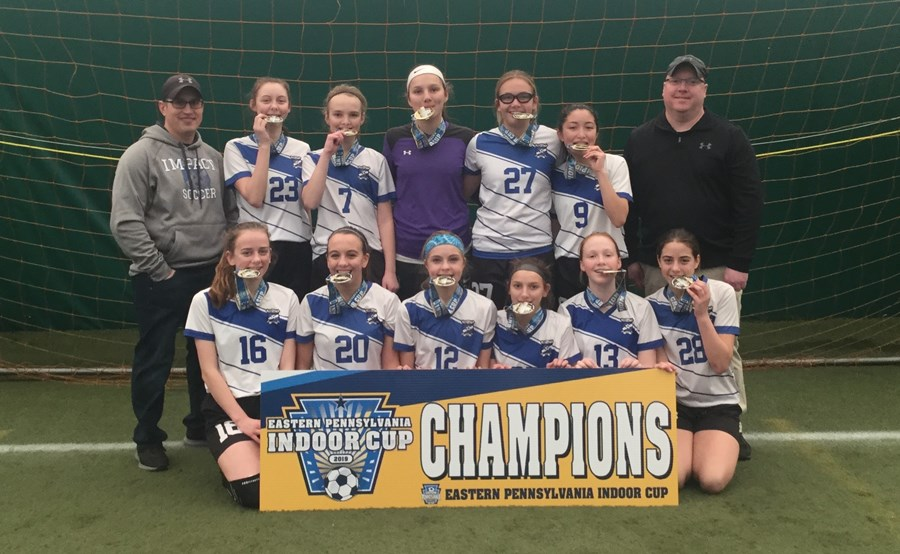 U14 Girls Challenge - Back Mountain Youth Soccer Impact White