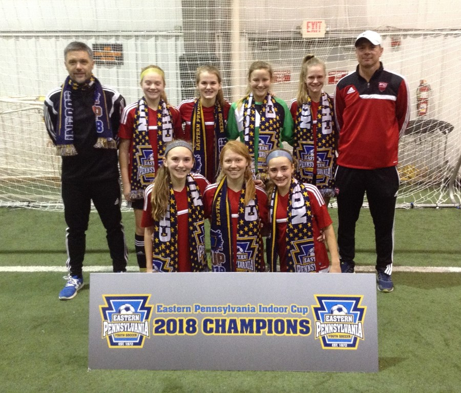 U14 Girls Elite - FC Europa Elite Black