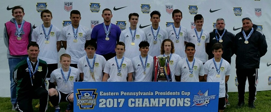 U17-18 Boys - Southern Chester County Soccer Association Dragons 2