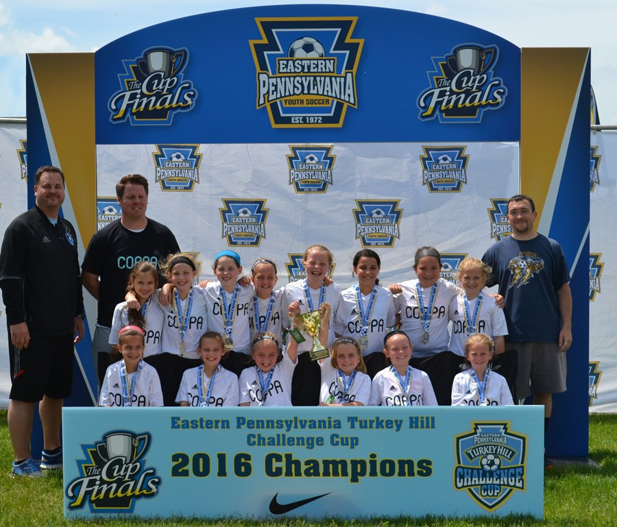 U9 Girls A - PSC Coppa Storm