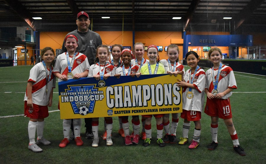 U9 Girls Challenge Blue - Upper Dublin SC Hurricanes