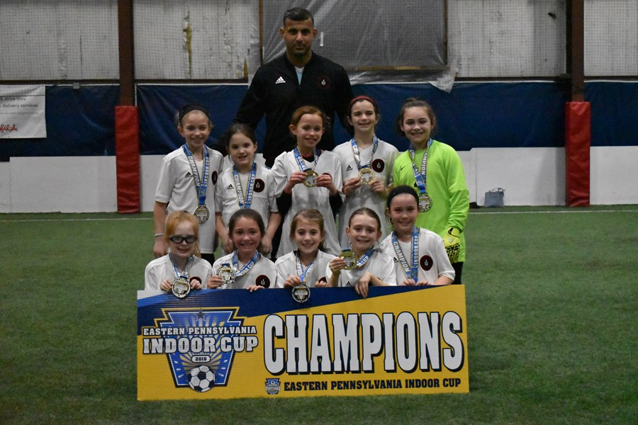 U9 Girls Challenge White - Philadelphia Ukrainian Nationals Black
