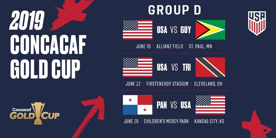 USMNT Gold Cup Group