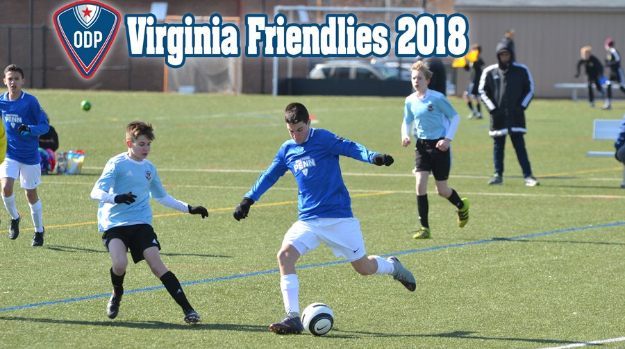 VA Friendlies 2018 webpage