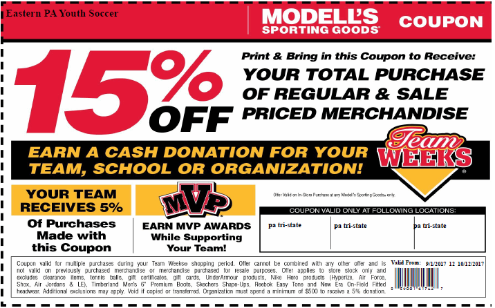 Modells team week Sept-Oct