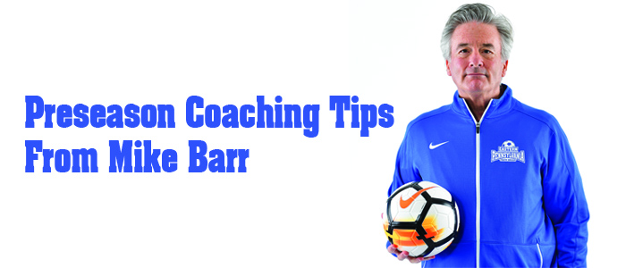 Preseason tips with mike barr web page
