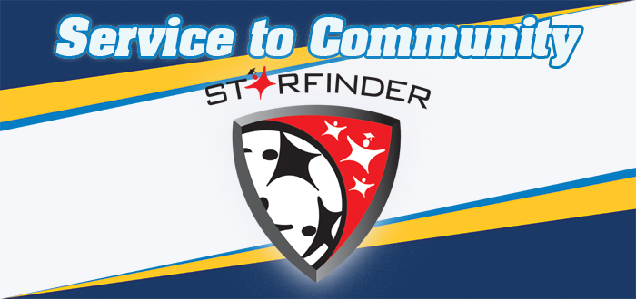 Service to Community Website Starfinder