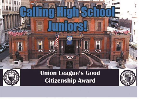 2016 Union League Good Citizenship Award...