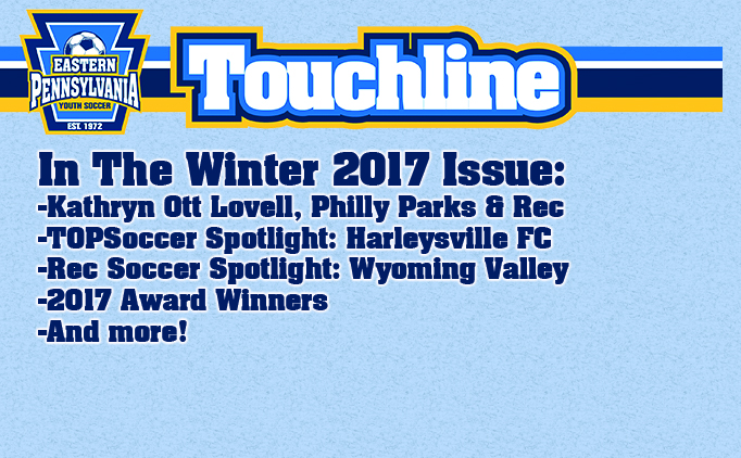 Touchline | Winter 2017 Now Available!