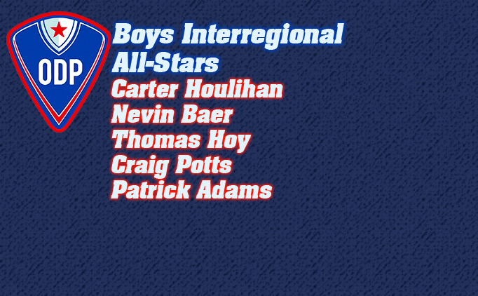Boys ODP Interregional All-Star Teams