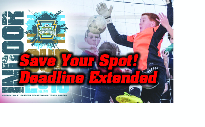 2018 Indoor Cup: Deadline Extended!