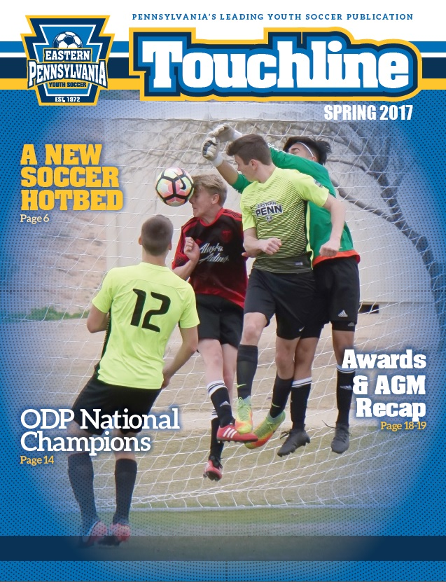 Touchline Spring 2017 Cover