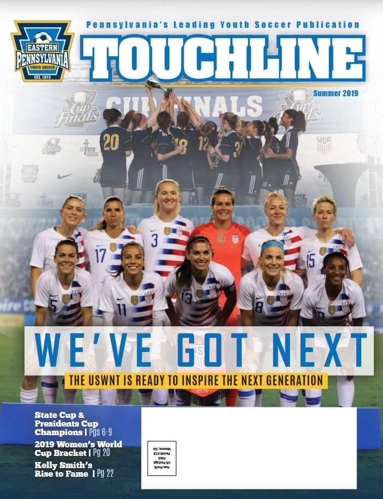 Touchline Summer 2019 Cover