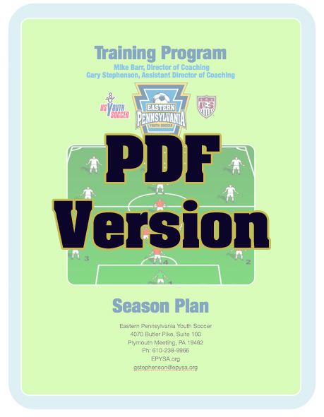 U14 Training Plans | Eastern PA Youth Soccer