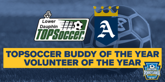 Volunteer of the Year - TOPSoccer Buddy of the Year
