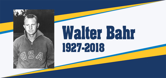 Walter Bahr RIP Website