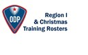 Region I Interregional & Christmas Training Rosters Have Been Announced