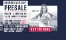 Ticket Presale for SheBelieves Cup in Chester