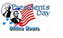 Office Closed For Presidents Day