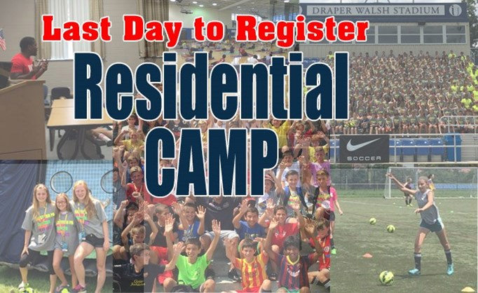 Countdown Is On: Resident Camp Starts Next Week