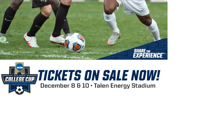 Discounted Tickets To 2017's Men's College Cup