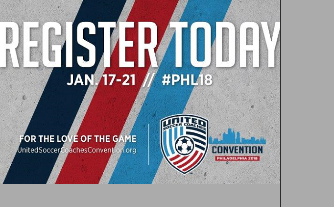 Register Today for United Soccer Coaches...