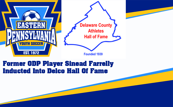 Sinead Farrelly Part of 2018 Delco Hall of...