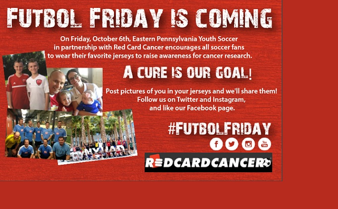 Red Card Cancer Week is Coming!