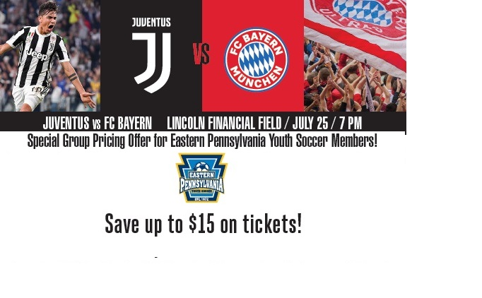 ICC: Bayern Munich v. Juventus Ticket Discounts