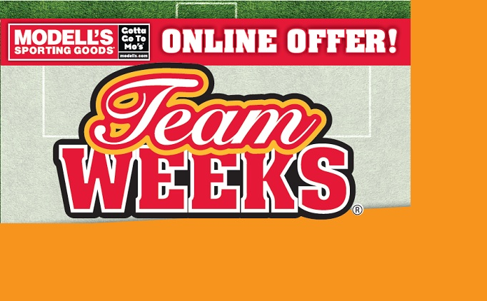 Modell's Team Week: Online Offer