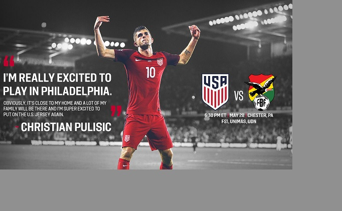 USMNT v. Bolivia: Tickets Still Available