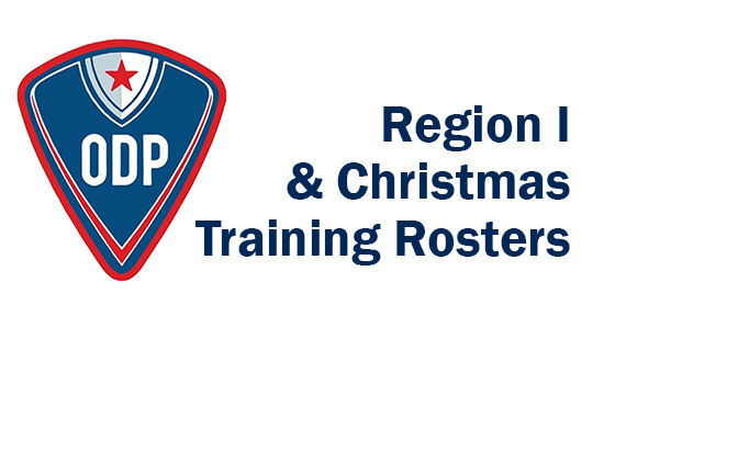 Region I Interregional & Christmas Training...