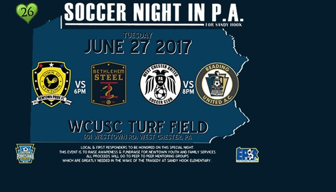 Soccer Night in PA for Sandy Hook
