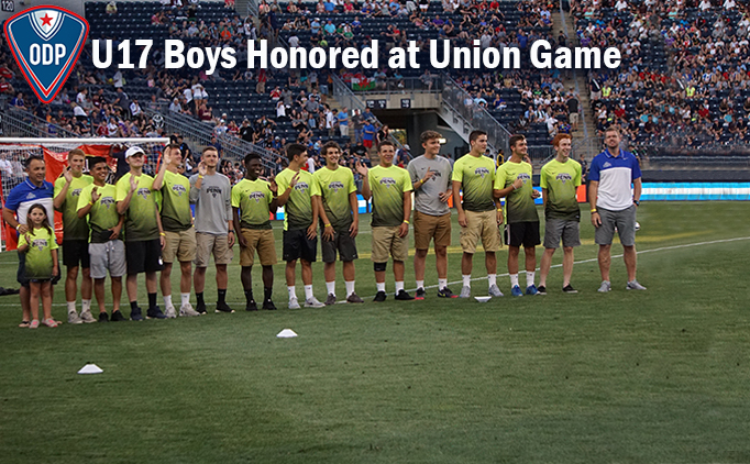 Philadelphia Union Honors National, Regional...