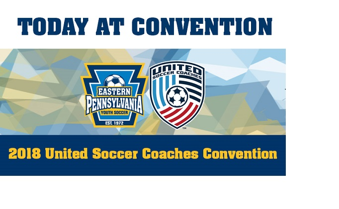 Blog: Today At The United Soccer Coaches...