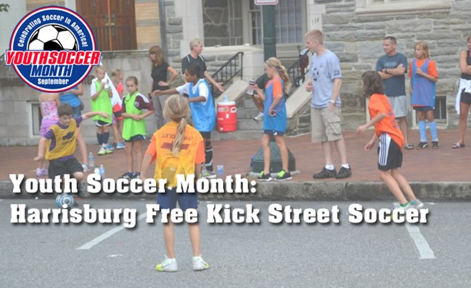 Youth Soccer Month: Harrisburg Free Kick...