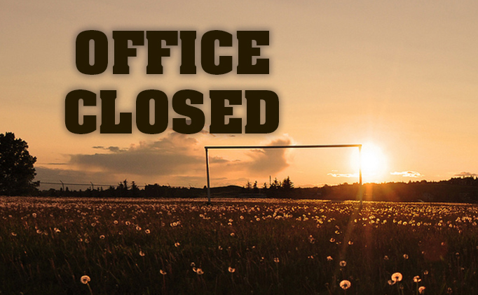 State Office To Close 11/22 & Will Reopen On...