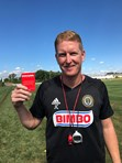 Jim Curtin Red Card Cancer