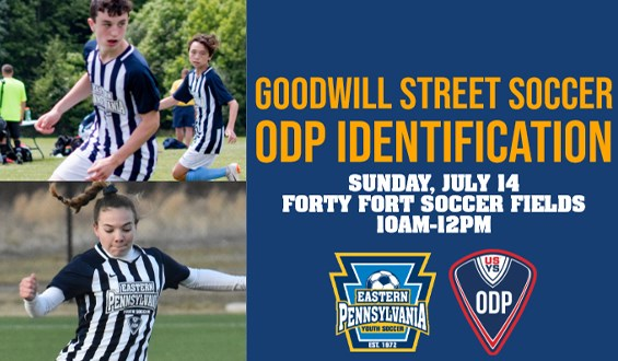 Goodwilll Street Soccer and ODP Identification